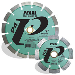 4 x .250 x 7/8, 20mm, 5/8 Pearl P4™ Tuck Point Blade, 12mm Rim