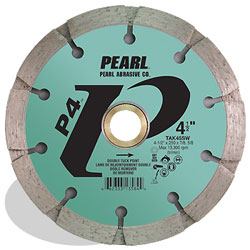 5 x .250 x 7/8, 5/8 Pearl P4™ Sandwich Tuck Point Blade, 10mm Rim