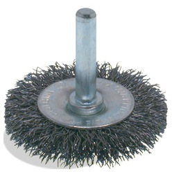 Wire brush Crimped Wheel End