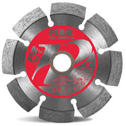 5 x .250 x 7/8, 5/8 Pearl P2 Pro-V™ Tuck Point Blade, 10mm Rim