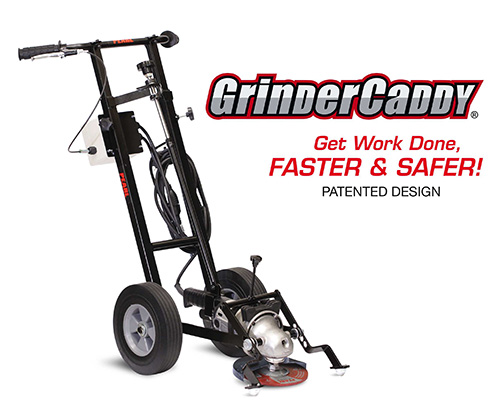 "GrinderCaddy FOR 7"" AND 9"" GRINDERS"