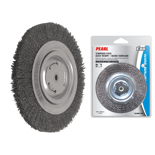 EXV™ Bench Wheel Wire Brushes